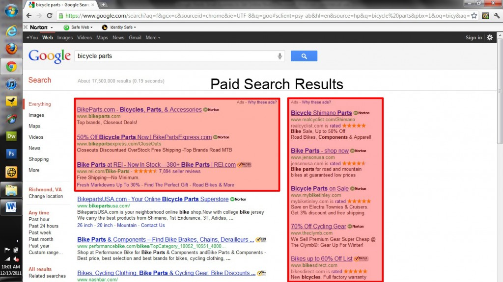 Paid Search Results | SEO and PPC by click-finders