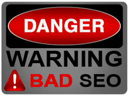 Danger BAD SEO's are everywhere!  Learn more at click-finders.com