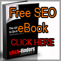 FREE eBook - The Ultimate Guide to SEO by click-finders